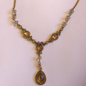 Avon vintage gold plated necklace